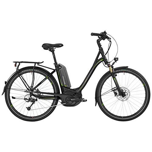 Bergamont E-Horizon 7.0 Wave Damen Bosch 26 Pedelec Elektro Fahrrad schwarz/grün 2017