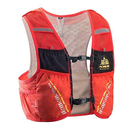 BoburyL 5L Correr al Aire Libre Mochila Mochila hidratación Bolsa de Agua Sport Climbing Camping Trail Running Chaleco