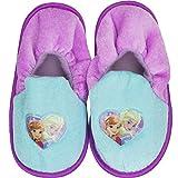 Frozen Hausschuhe Slipper Sneaker Mädchen Kindergarten Schuhe Gr. 25-32-waschbar (26/27)