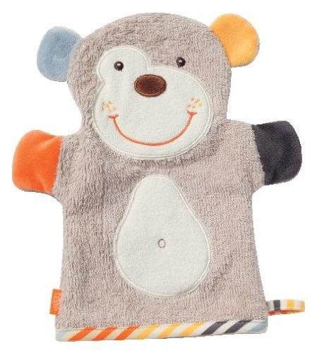 Fehn 081527 Waschhandschuh Koala / Waschlappen mit Tiermotiv für fröhlichen Badespaß, für Babys und Kinder ab 0+ Monaten