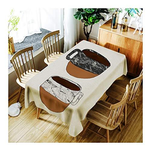 ZHAOXIANGXIANG Schlankes, Minimalistisches Tabelle Mat Digitaldruck Kreative Marmor Kaffeetasse...
