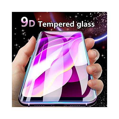 LZHANDA Schutzfolie Gehärtetem Glas panzerglas 9D Curved Protective Tempered Glass for Redmi Note 7 Glass Note 5 5A 6 Screen Protector for Redmi 5 5A 6 Pro 6A Plus Film for Note 5A 32-64GB Black (Droid Turbo 32gb)
