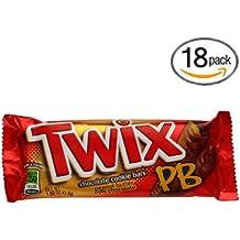 Twix Crispy Creamy Crunchy Peanut Butter Cookie Bars - 18 Pack