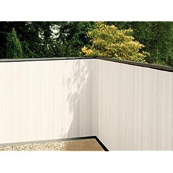 balkonsichtschutz weiss 90x300 kunststoff sichtschutzmatte balkonverkleidung. Black Bedroom Furniture Sets. Home Design Ideas
