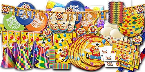 wn Partyset XXL - Partygeschirr & Partydeko im Sparset ()