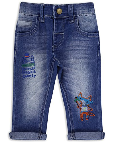 The Essential One - Baby Kids Boys Skinny Jeans - Finley Fox - 12-18 Months - Blue - EOT258