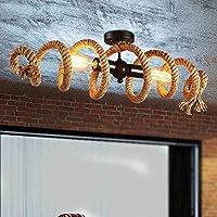 AWYL Iluminación Araña Retro Industrial Viento Loft Café Bar Tienda de Ropa Canilla de Agua Araña