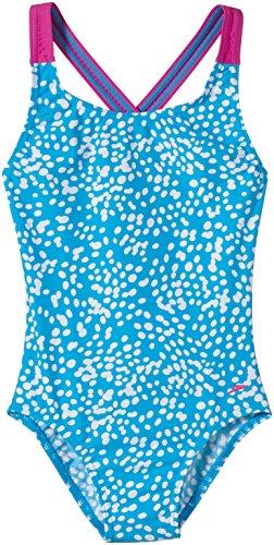 Speedo Mädchen Badeanzug 1 Pc JF NE Pink/Blue/White, 176 -