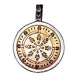 Rad des Gesetzes Anhänger Amulett Talisman - Gesundheit, Reichtum und Glück