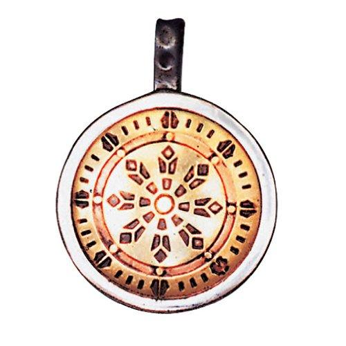 Rad des Gesetzes Anhänger Amulett Talisman - Gesundheit, Reichtum und Glück China-räder