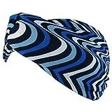 GAH-Alberts gah-gah Damen Stirnband Einheitsgröße Gr. Einheitsgröße, blau gestreift