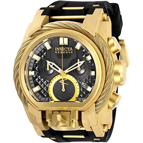 Invicta Men's Reserve Gold-Tone Steel Bracelet & Case Swiss Quartz Watch 26447