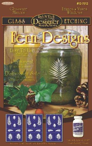 armour-etch-designer-stencil-pak-fern-designs