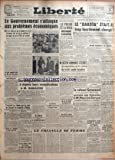 Telecharger Livres LIBERTE du 28 01 1947 LE GOUVERNEMENT ET LES PROBLEME ECONOMIQUES LES FONCTIONNAIRES ET M RAMADIER M BEVIN ANNONCE L ECHEC DU TRAITE ANGLO EGYPTIEN ENQUETE SUR L ACCIDENT DE COPENHAGUE LE COLONEL GROUSSARD MIS EN CAUSE DANS L AFFAIRE HARDY ENVOIE SES TEMOINS A MAITRE MAURICE GARCON LE CONSEIL DE CONTROLE A BERLIN M RAMADIER A RECU TANGUY PRIGENT ET PH LAMOUR M GIRAL A DEMISIONNE (PDF,EPUB,MOBI) gratuits en Francaise
