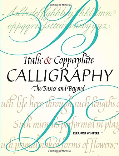 Italic and Copperplate Calligraphy (Lettering, Calligraphy, Typography) por Eleanor Winters
