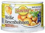SUNTAT Riesenbohnen in Sauce , 2er Pack (2 x 400 g Packung)