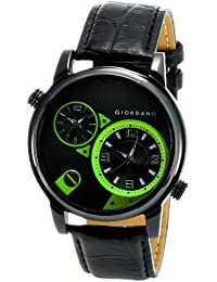 Giordano Analog Black Dial Men's Watch - 60058 (P11640)