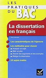 La dissertation en français