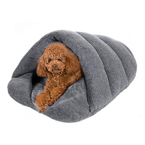 LA VIE Casa Adorable Perro Forma Zapatilla Cama Nido