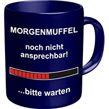 FunTasstic Tasse Vor dem ersten Kaffee unbedingt Klappe halten Tasse Kaffeepott