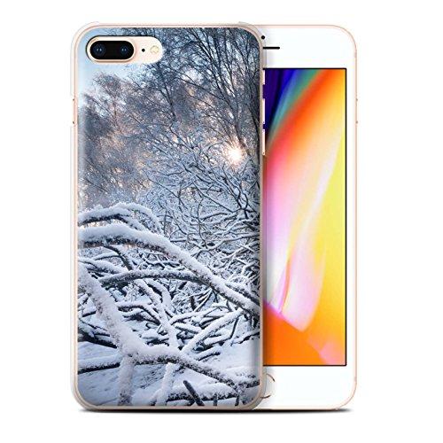 Stuff4 Hülle / Case für Apple iPhone 8 Plus / Pack 7pcs / Winter Saison Kollektion Branches/Zweige