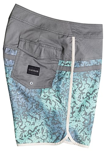 Quiksilver Herren Stomp Cracked Scallop 18 Zoll Board Shorts Castlerock