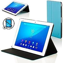 """Forefront Cases® Nueva Funda Case Cover Protectora Plegable para Sony Xperia Z4 10.1 Tablet de 10.1"""" – Función automática inteligente de Suspensión/Encendido + Lápiz óptico y protector de pantalla"""