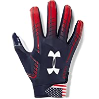 Under Armour Guanti Football UA F6 LE - Midnight Navy/Rocket Red - XX-Large