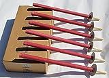 50 Stück Wachsfackeln Brennzeit 45 min Gartenfackel Fackeln