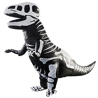YOWESHOP T-Rex – Disfraz Hinchable de Dinosaurio – Disfraz de Navidad, Halloween, Fiesta, Disfraces, Disfraz para Adultos
