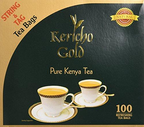 Kericho Gold Kenya té de Kericho Oro bolsas- té de Kenia Negro Bolsas de Cuerda