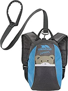 Baby / Toddler Safety Backpack Walking Harness with Reins Blue