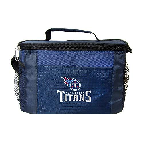 NFL Tennessee Titans Isolierte Lunch-Kühltasche mit Reißverschluss, Marineblau