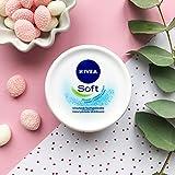 Nivea Soft Creme Erfrischende Feuchtigkeitscreme,...