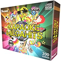 Karaoke CDG Pack. Mr Entertainer Megahits Family Party. 200 Greatest Songs Of All Time, Old & New