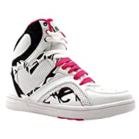 Pineapple Womens & Girls Hi Top Trainers