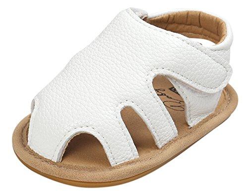 EOZY Sandales Chaussures Bébé Fille Chaussons Cuir Enfant Casuel Princesse Printemps Été