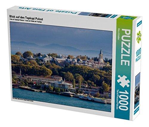 Preisvergleich Produktbild Blick auf den Topkapi Palast 1000 Teile Puzzle quer: Blick auf den Topkapi Palast in Istanbul (CALVENDO Orte)