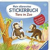Mein allererstes Stickerbuch: Tiere im Zoo