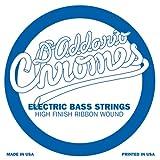 D'Addario CB100SL Chromes Einzelsaite für Bassgitarre, Super Long Scale.100