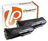Bubprint 2 Toner kompatibel für Samsung MLT-D1042S/ELS für ML-1660 ML-1665 ML-1670 ML-1675 ML-1860 ML-1865W SCX-3205W 1.500 Seiten Schwarz / Black