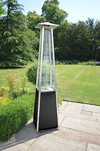 LG Outdoor dan04Dante Pyramid Flame Terrassenstrahler–Grau; - 2