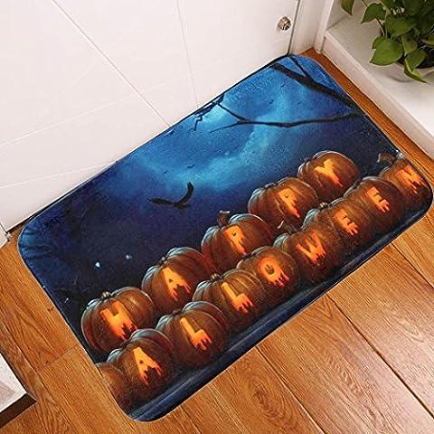 Sansee Tür Matte Eingang Teppich für Halloween (40x60cm, Y0902-29) (Super Easy Halloween-kostüme Für Kinder)