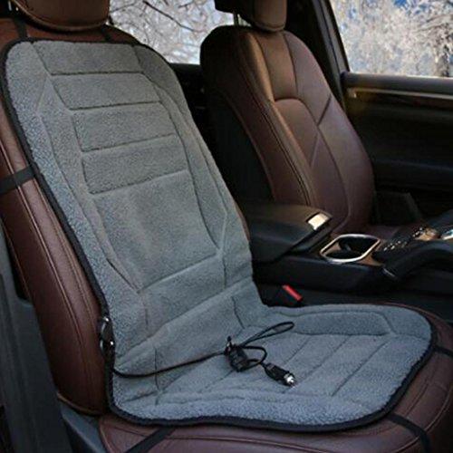 Heizung Auto Kissen Elektrische Heizkissen 12V Sitz Heizdecken , gray