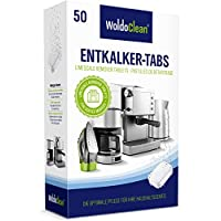 Entkalkungstabletten für Kaffeevollautomat Kaffeemaschine 16g Tabletten - 50 Tabs kompatible für Siemens Delonghi Jura Melitta Saeco uvm.