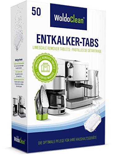 Entkalker - 50x Entkalkertabletten - Entkalkungstabletten I Entkalkertabs I Entkalker für...