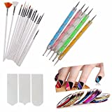 Best Nail Tools - Store2508 Nail Art Pen Set Of 5,15Pc Nail Review