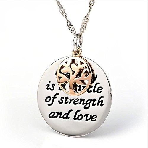 ccxx Woman'necklaces S925 Sterling Silber Temperament Persönlichkeit Anhänger Spiel Europa Europa Deck Baum des Lebens Lady Schmuck Weiblich,OneColor-OneSize (Deck Womens)