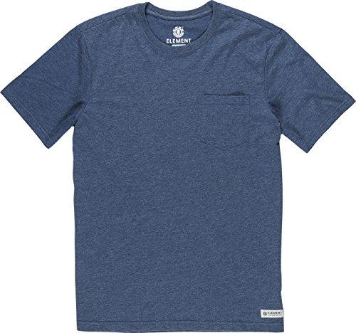 Element Basic Pocket T-Shirt Blau
