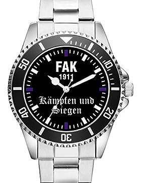FAK Wien Geschenk Fan Artikel Zubehör Fanartikel Uhr 2486